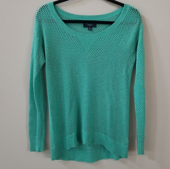 American Eagle Outfitters | open knit sweater